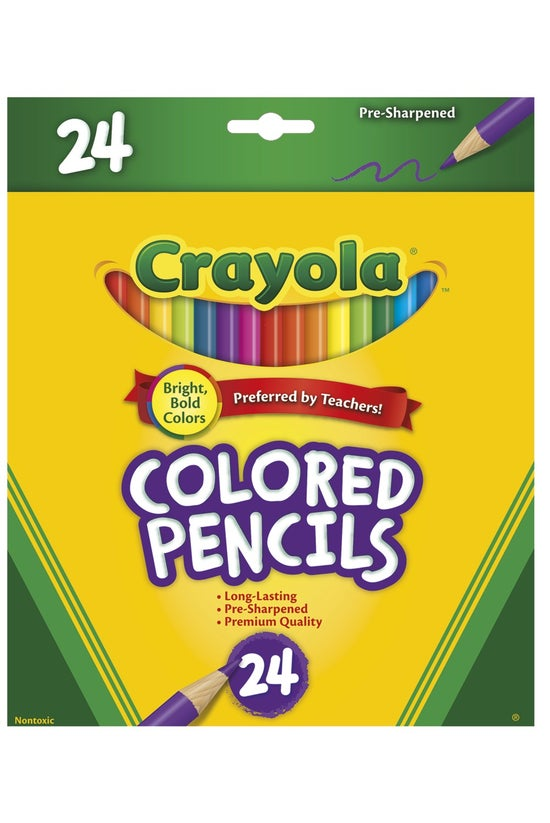 Crayola Coloured Pencils Pack ...