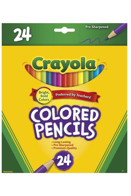Crayola Coloured Pencils Pack ...