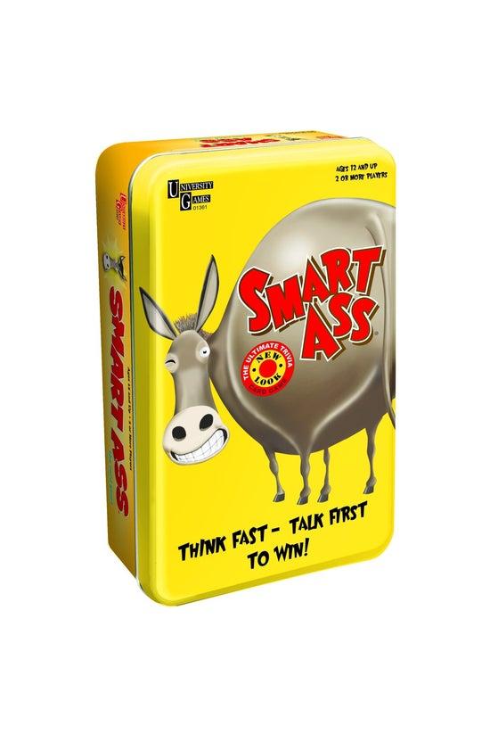 Smart Ass Tin Travel Game