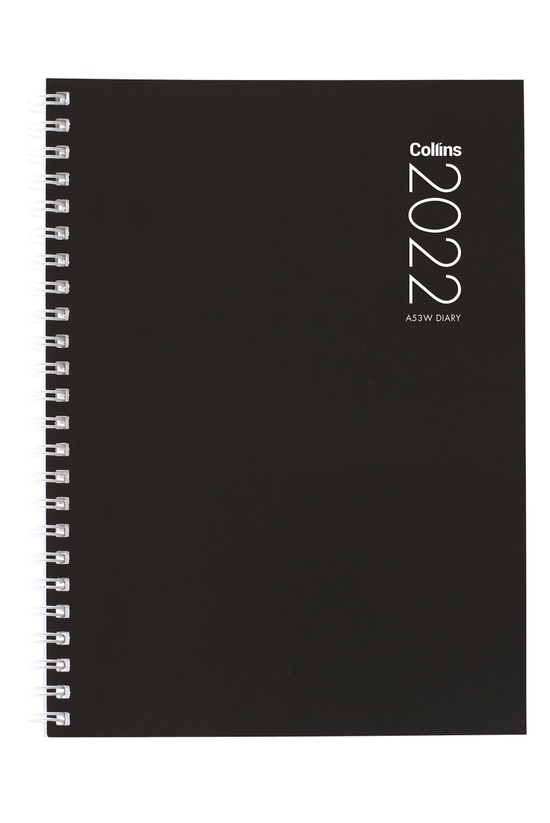 2022 Diary Collins A53w Week T...