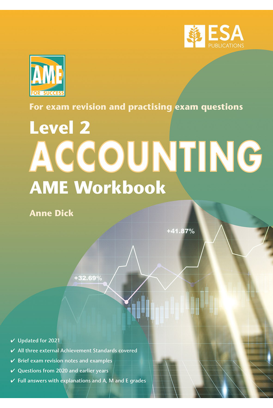 Ncea Level 2 Accounting Ame Wo...