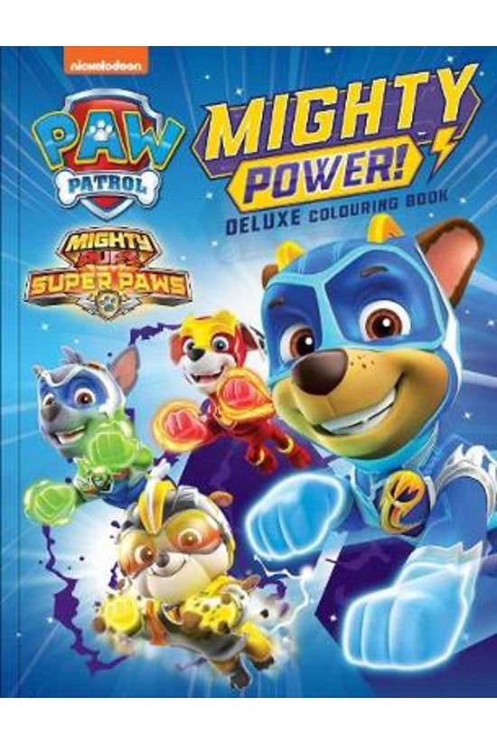 Paw Patrol Mighty Pups: Deluxe...