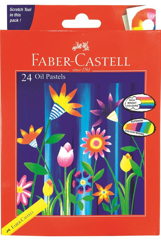Faber Castell Oil Pastels Pack...