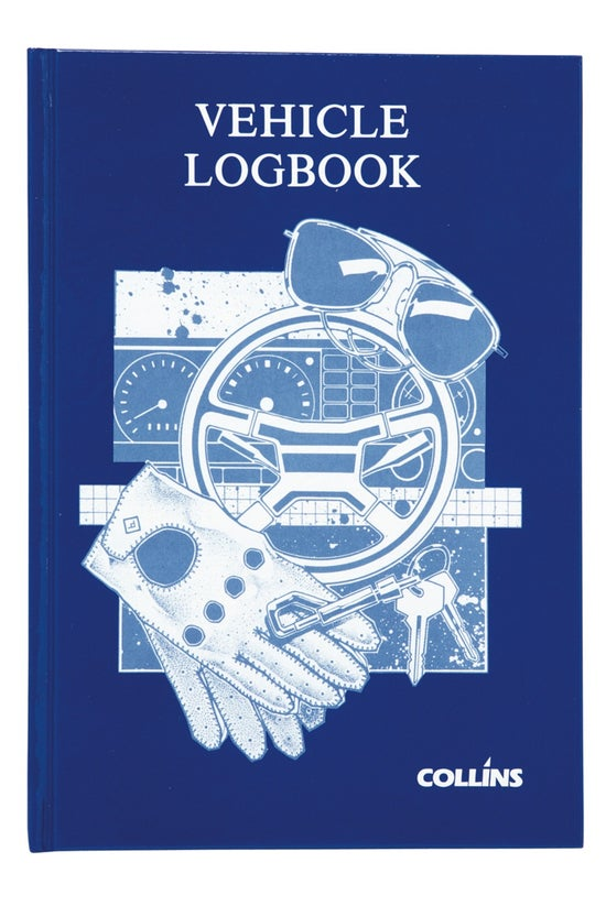 Collins Vehicle Log Book Hardc...