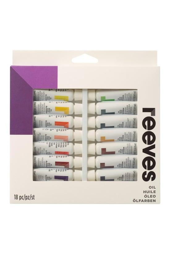 Reeves Oil Paint Set 10ml Pack...