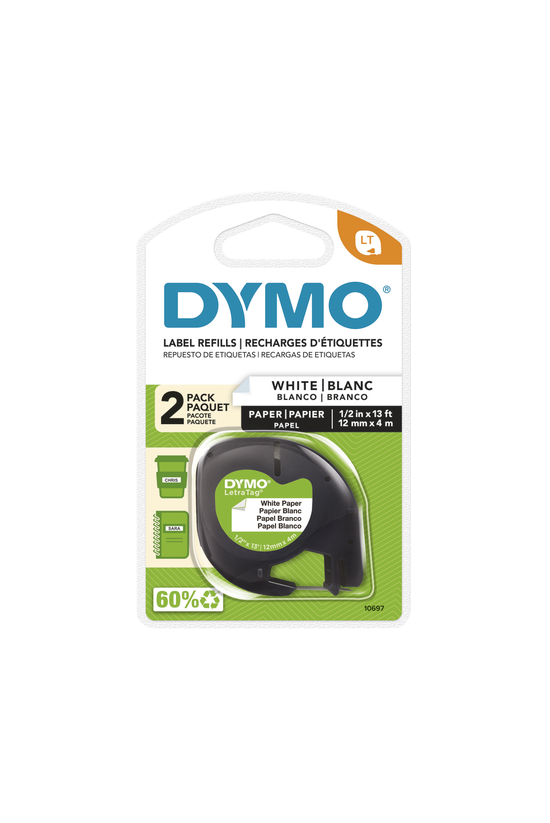 Dymo Letratag Label Tape Paper...
