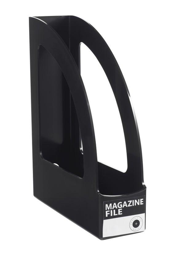 Magazine File Black