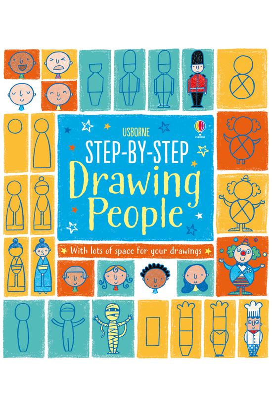 Step By Step Drawing Book Peop...