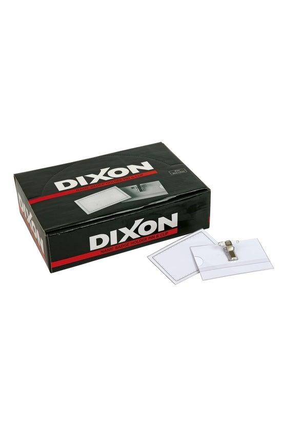 Dixon Name Tag Holder Pin &...