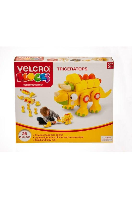Velcro Blocks Triceratops
