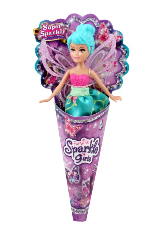Sparkle Girlz Mini Cone Doll A...