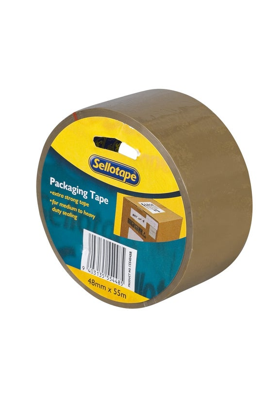 Sellotape Packing Tape Brown 4...