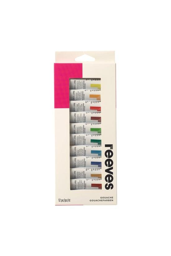 Reeves Gouache Colour Paint Se...