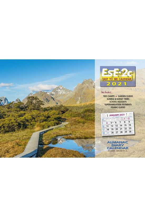 2021 Wall Calendar Ese-2c