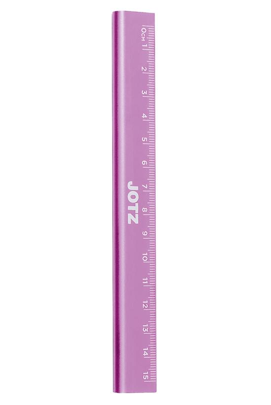 Jotz Ruler Metal 15cm Pink