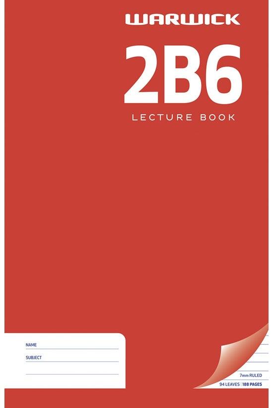 Warwick 2b6 Hard Cover Lecture...
