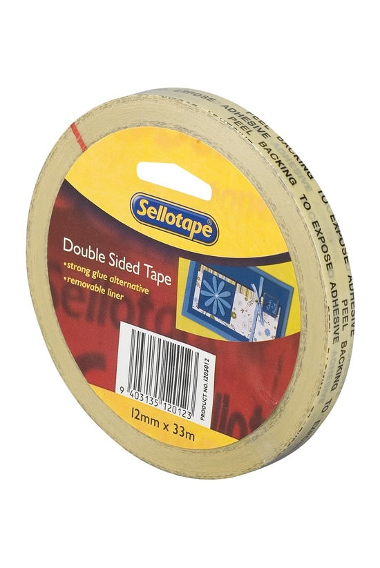 Sellotape Double Sided Tape 12...