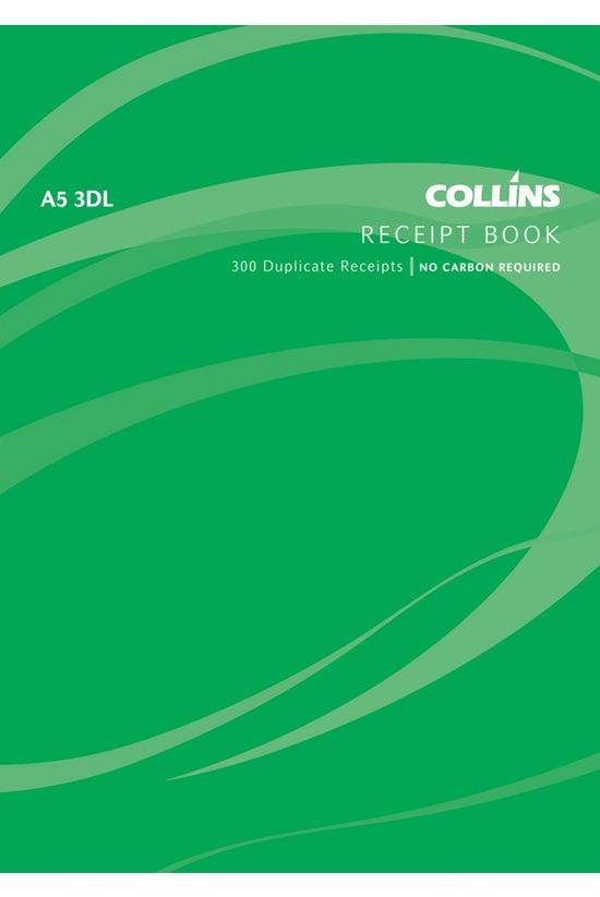 Collins Cash Receipt Book A5 3...