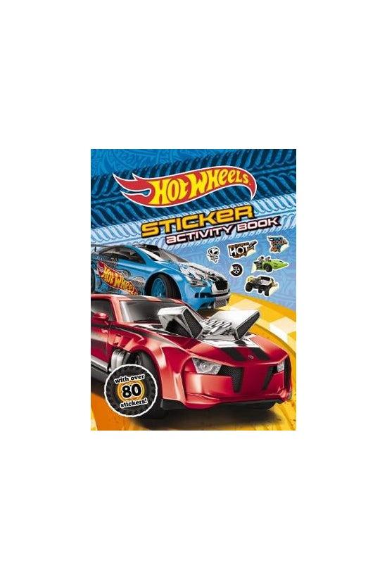 Hot Wheels Sticker Activity