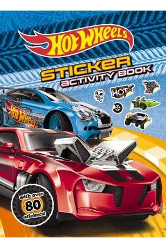 Hot Wheels Sticker Activity Bo...