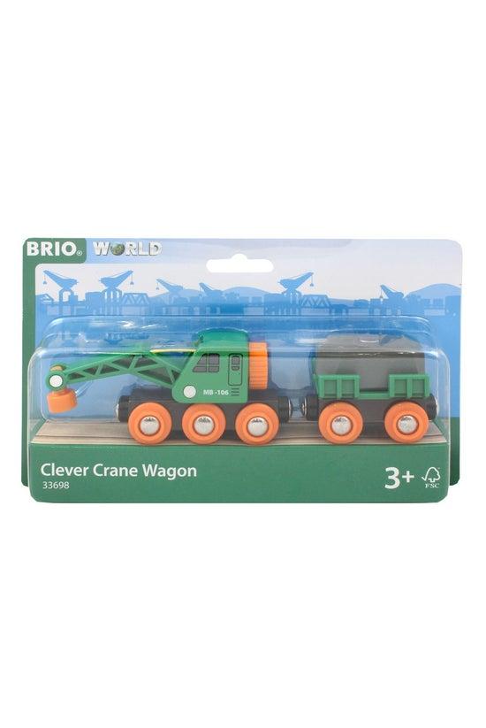 Brio World: Clever Crane Wagon