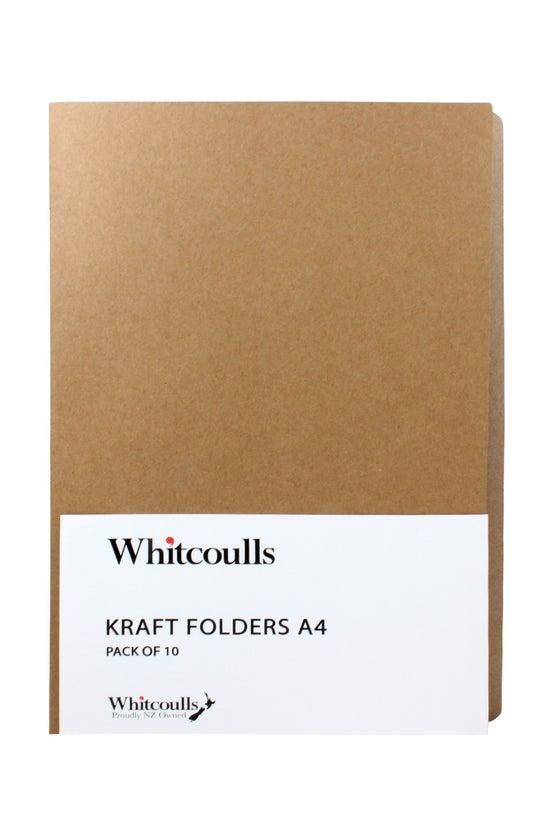 Whitcoulls Kraft File Folders ...