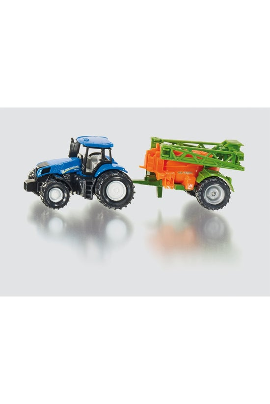 1668: Siku Tractor With Crop S...