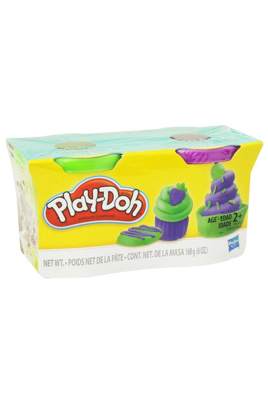Play-doh Pack Of 2 Assorted
