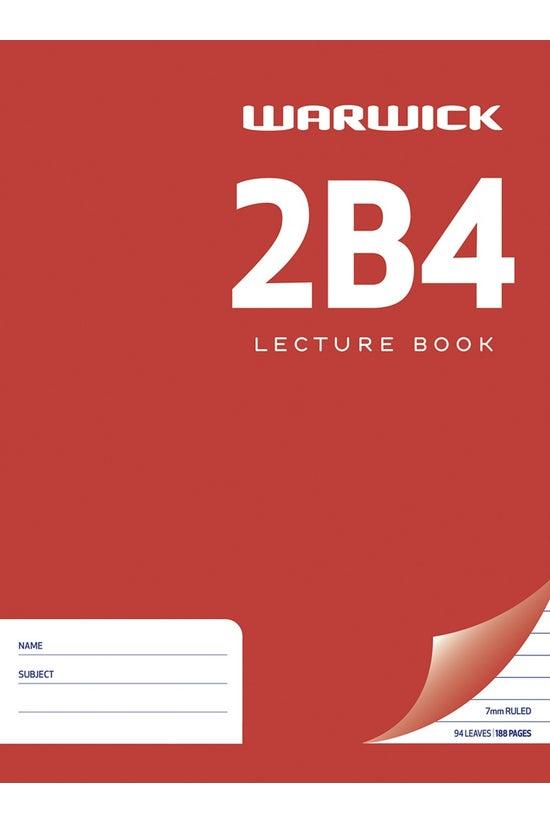Warwick 2b4 Hard Cover Lecture...