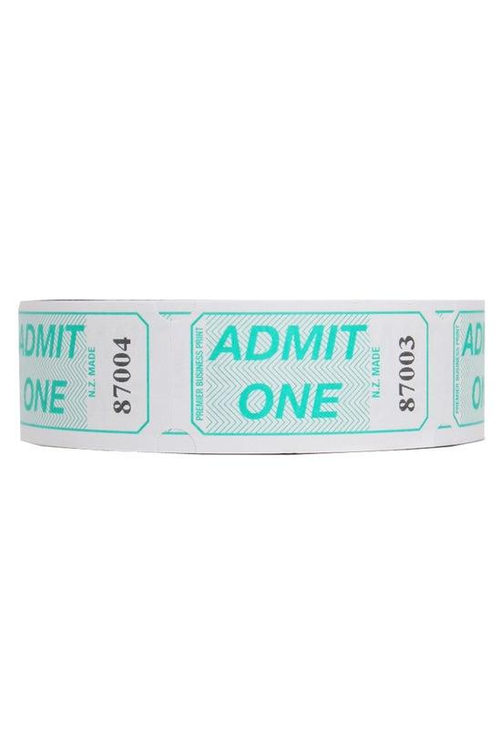 Admit One Roll 1000 Tickets