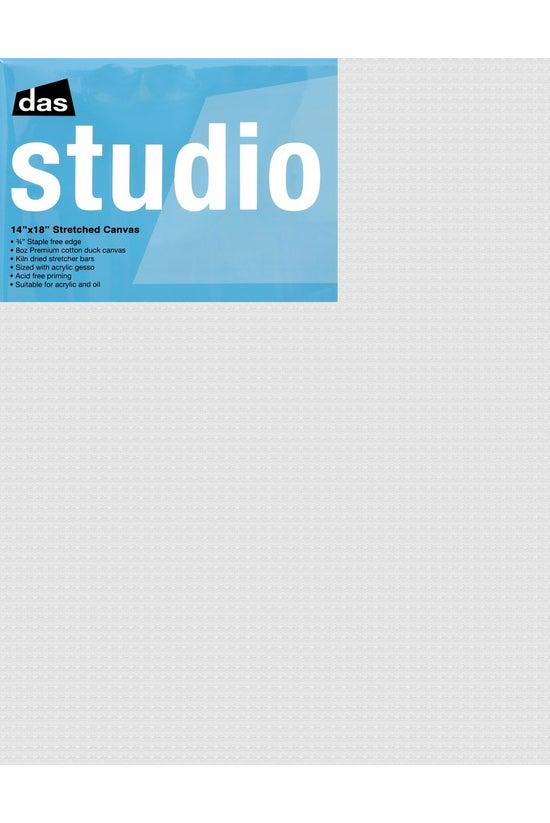 "Das Studio 3/4"" Canvas 14..."