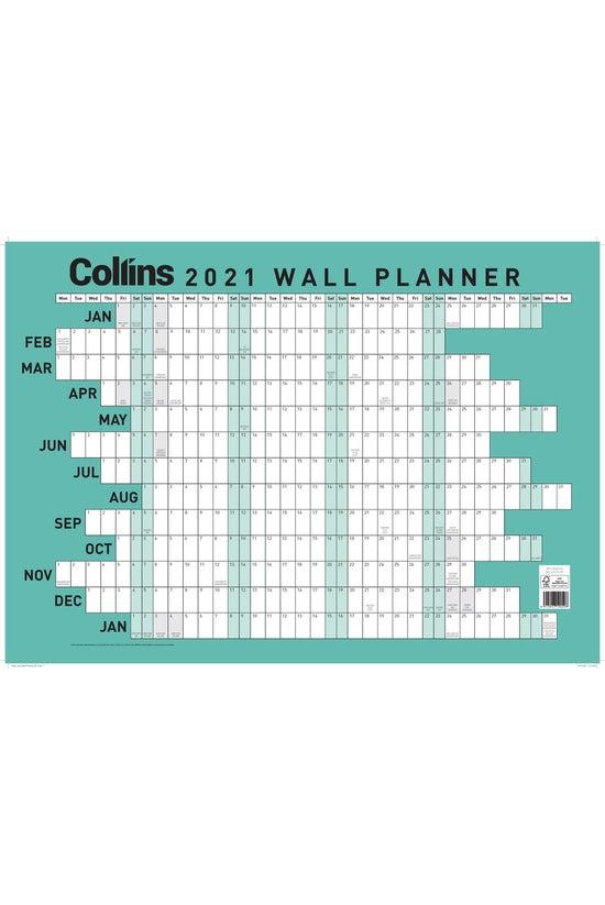 2021 Collins Wallplanner A2