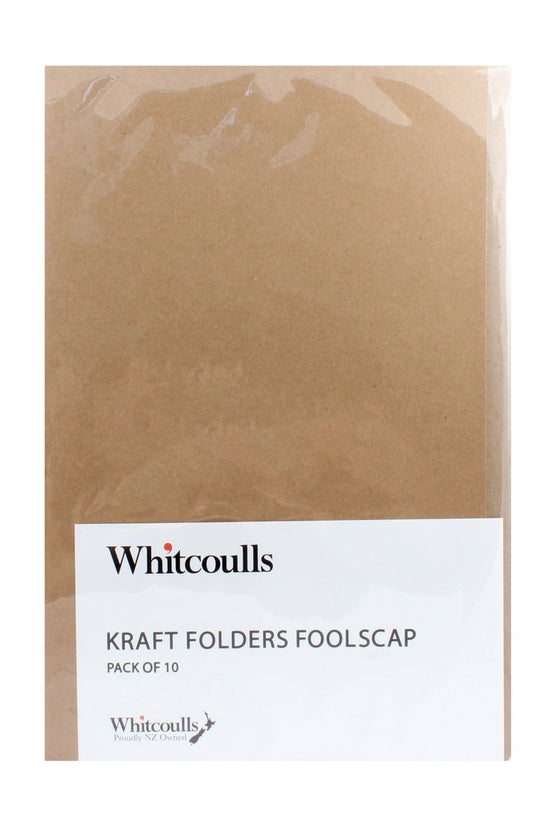 Whitcoulls Kraft File Folders ...