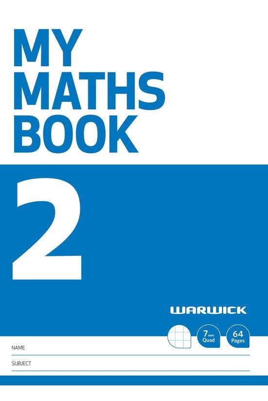 Warwick My Maths Book 2 7mm Qu...