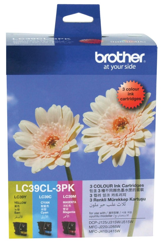 Brother Ink Cartridge Lc39cl C...