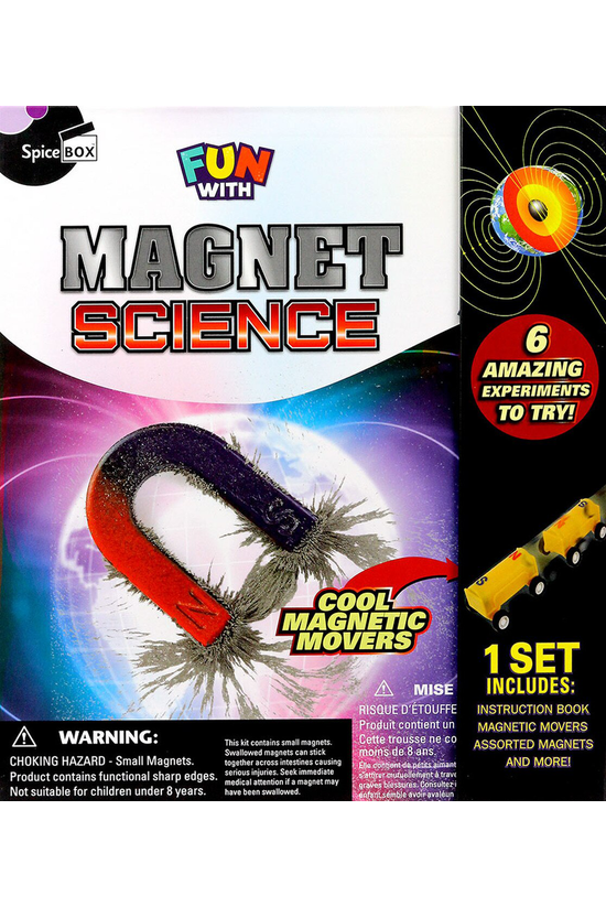 Spice Box Fun With Magnet Scie...