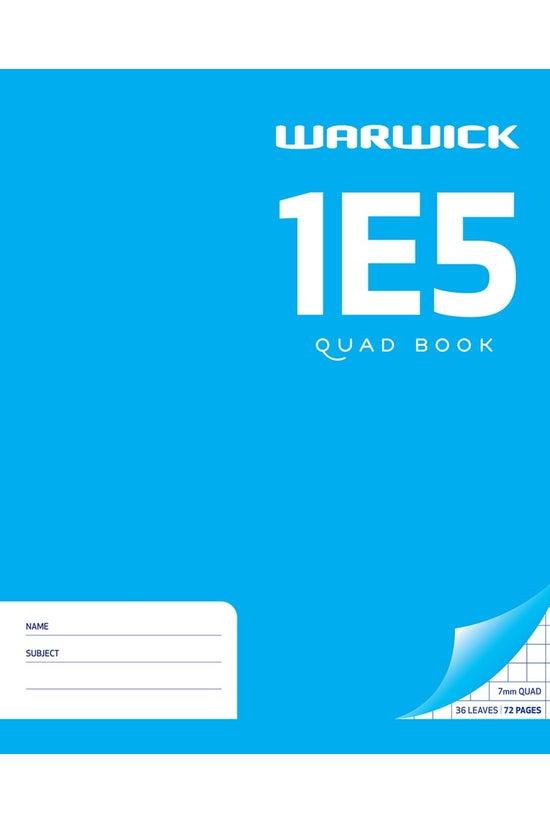 Warwick 1e5 Quad Book 36 Leaf