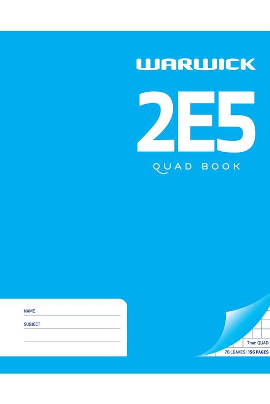 Warwick 2e5 Quad Book Hard Cov...