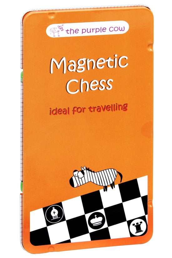 Purple Cow Magnetic Chess