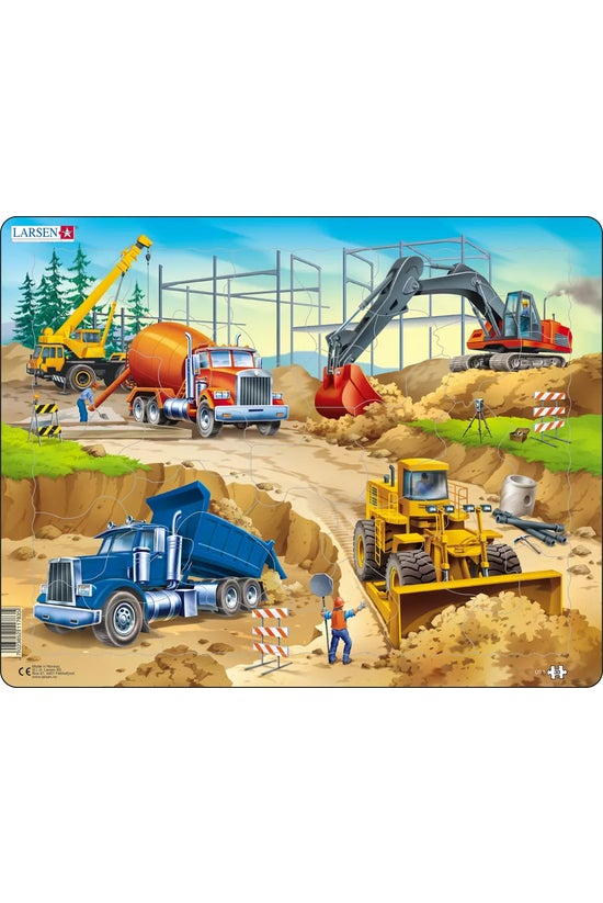 Construction Puzzle 30 Pieces