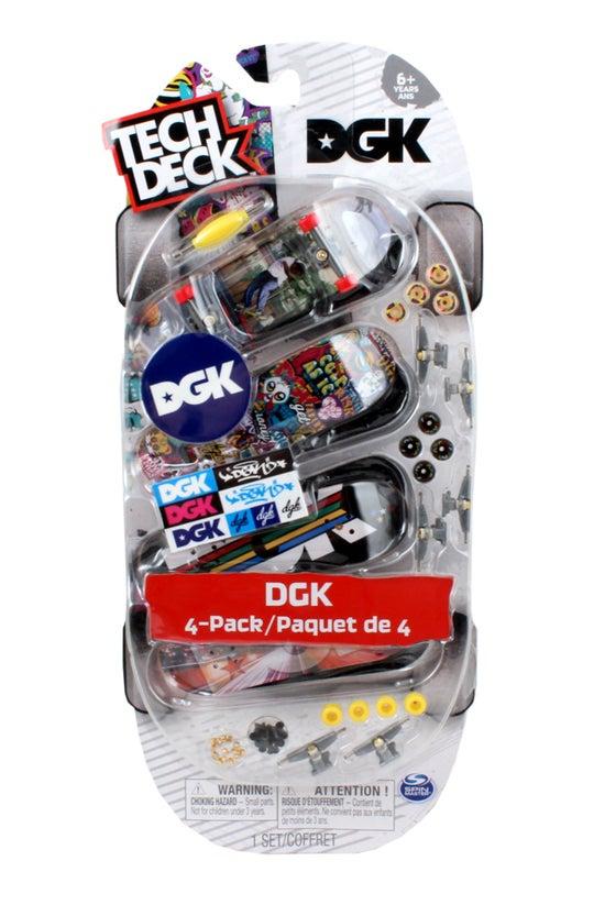 Tech Deck Multi Pack Of 4