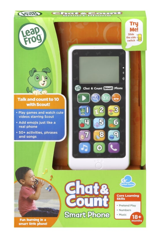 Leapfrog Chat & Count Smar...