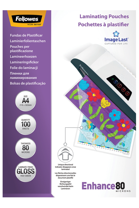 Fellowes Laminating Pouches A4...