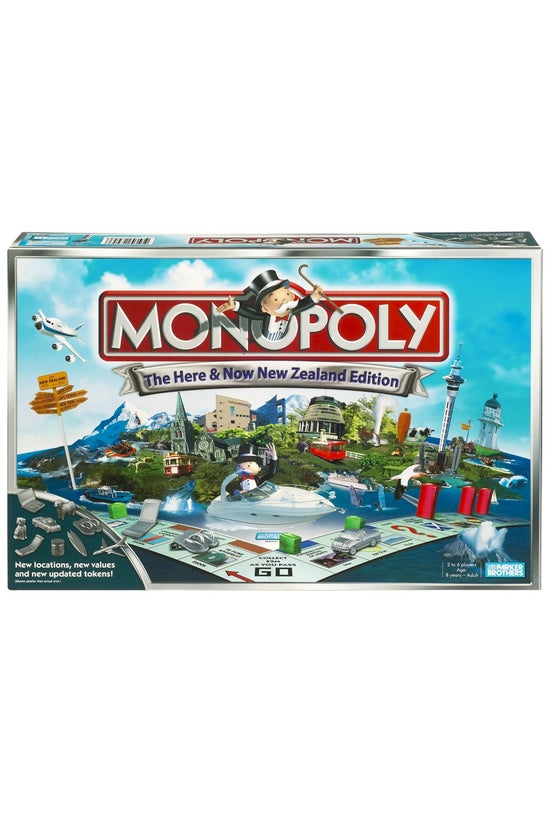 Monopoly Here & Now New Ze...