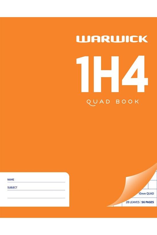 Warwick 1h4 Quad Book 28 Leaf