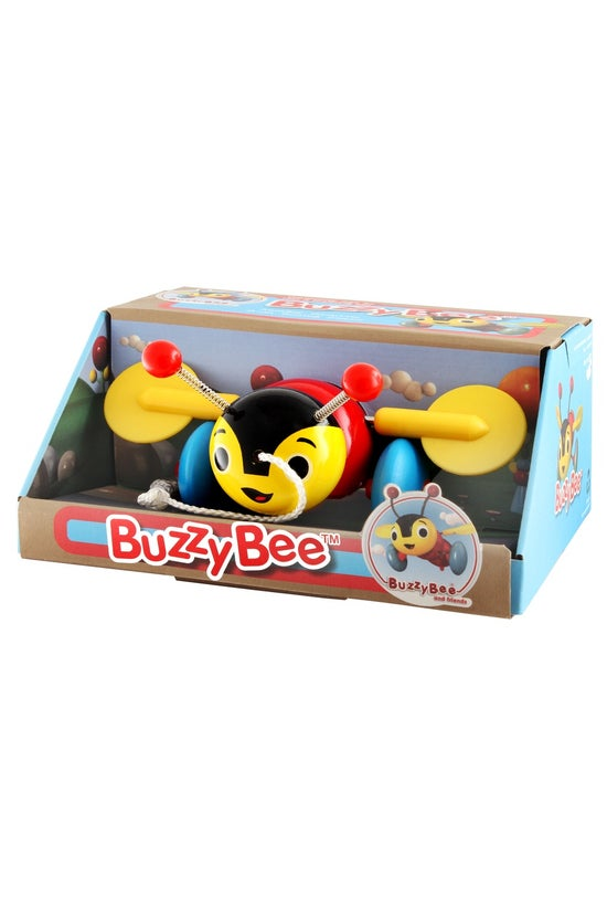 Buzzy Bee Pull Along Wooden To...