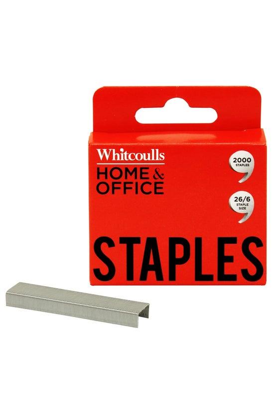 Whitcoulls Staples 26/6 Pack O...