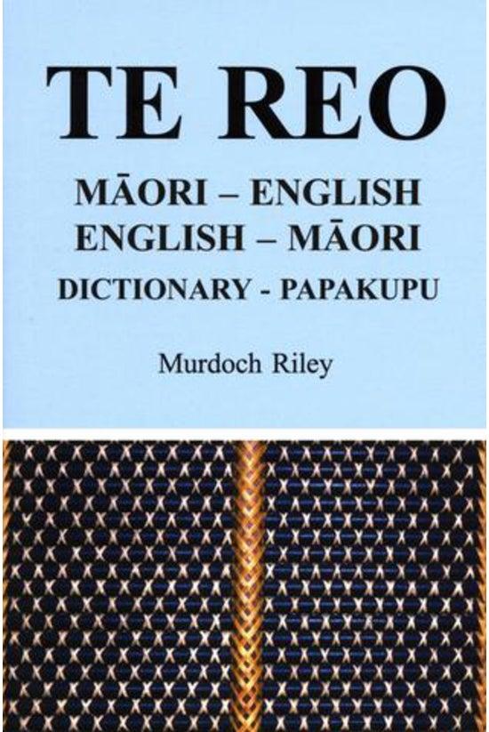 Te Re: Dictionary: Maori-engli...