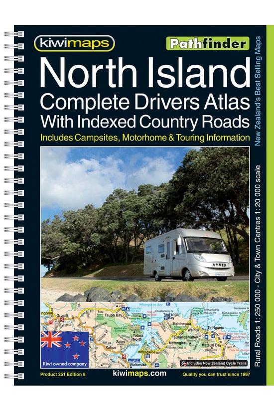 North Island Rural Roads A4 Bo...