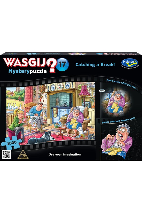 Wasgij Mystery #17: Catching A...